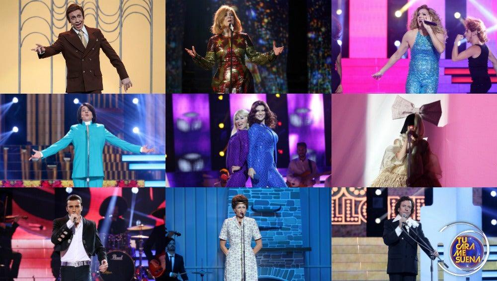 ¡Vota por la mejor actuación de la séptima gala de 'Tu cara me suena'!