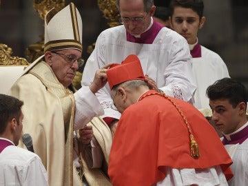El Papa crea cardenal a Carlos Osoro