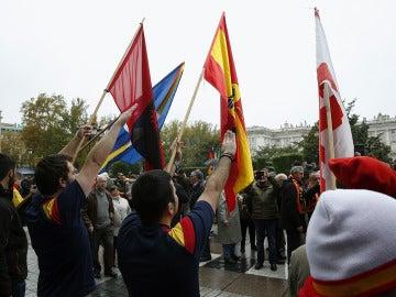 Concentración en homenaje a Franco y a Primo de Rivera