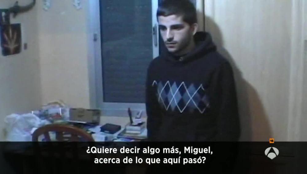 Miguel Carcaño.