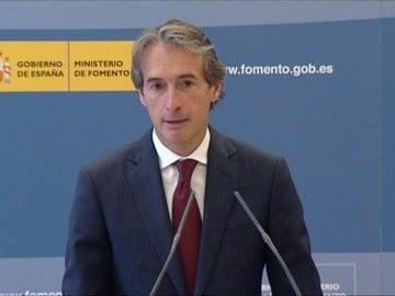 Frame 1.976897 de: El ministro de Fomento retomará el plan de rescate de las autovías en quiebra
