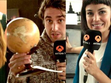 Los actores te dan la 'Bienvenida al mundo Velvet' en un mercadillo solidario