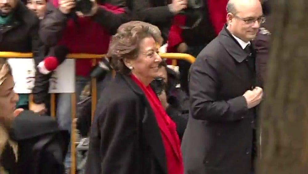 Rita Barberá llega al Tribunal Supremo para declarar