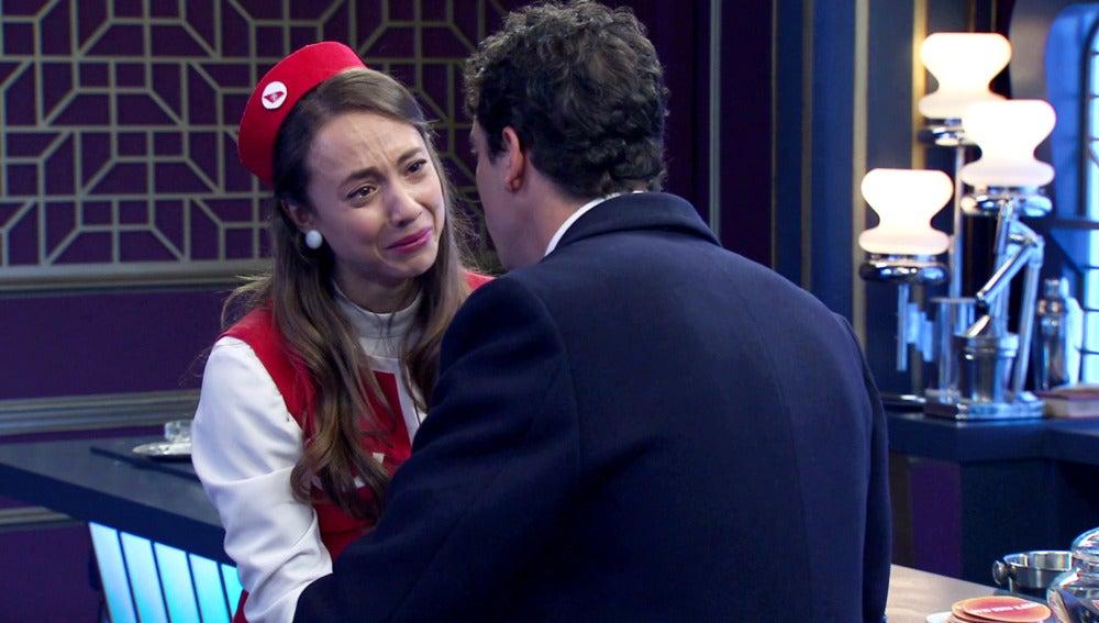 """Rafael: """"Alba, creo que no estoy enamorado de ti"""""""