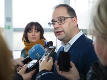El exsecretario de Organización del PSOE, César Luena