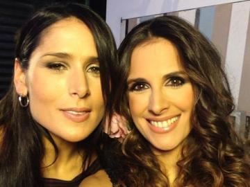 Rosa López y Nuria Fergó