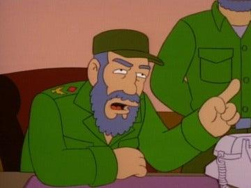 'Los Simpson' predijeron lo que diría Fidel Castro sobre el modelo cubano 12 años antes