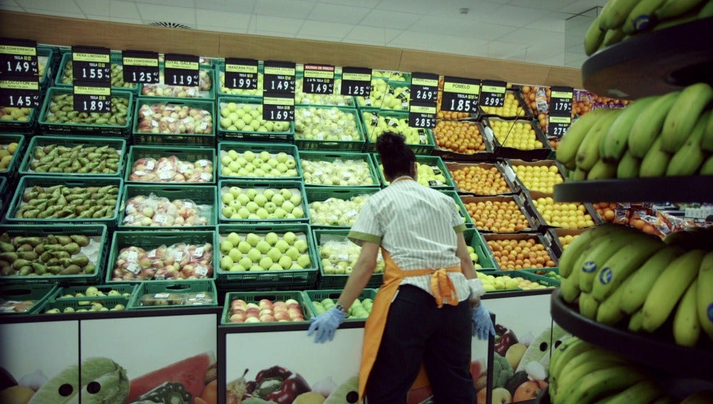 Frutería de Mercadona