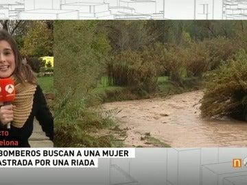 Frame 54.292939 de: Buscan en Barcelona a una joven desaparecida que fue arrastrada por una riera