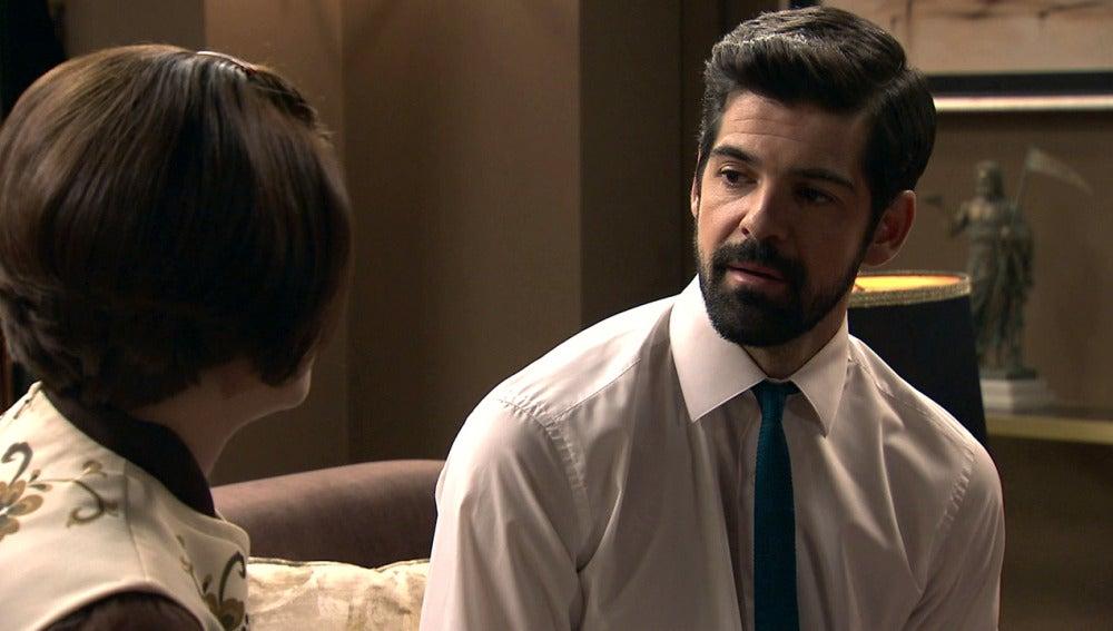 """Alonso, a Marta: """"¿Ahora tampoco vas a renunciar a ningún sueño?"""""""