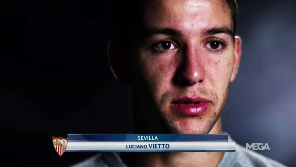 """Frame 78.913163 de: Vietto: """"Necesitaba tener minutos y el Sevilla me los está dando"""""""