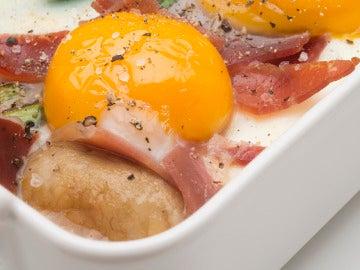 Huevos al horno.