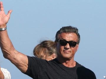 El actor Sylvester Stallone