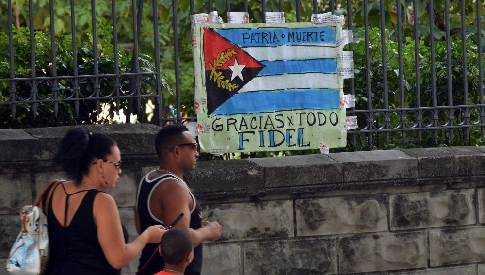 Jornada de luto en Cuba