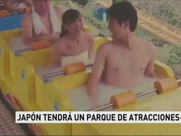 Japón creará un parque de atracciones con spa
