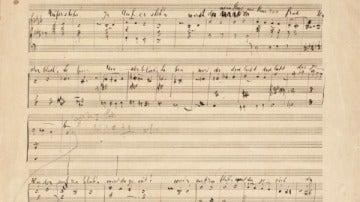 Partitura de Gustav Mahler