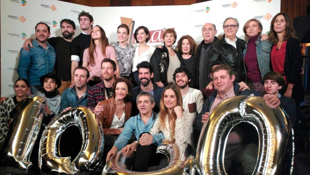 'Amar es para siempre' celebrará su capítulo 1.000 en Antena 3