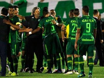 Jugadores del club de fútbol Chapecoense