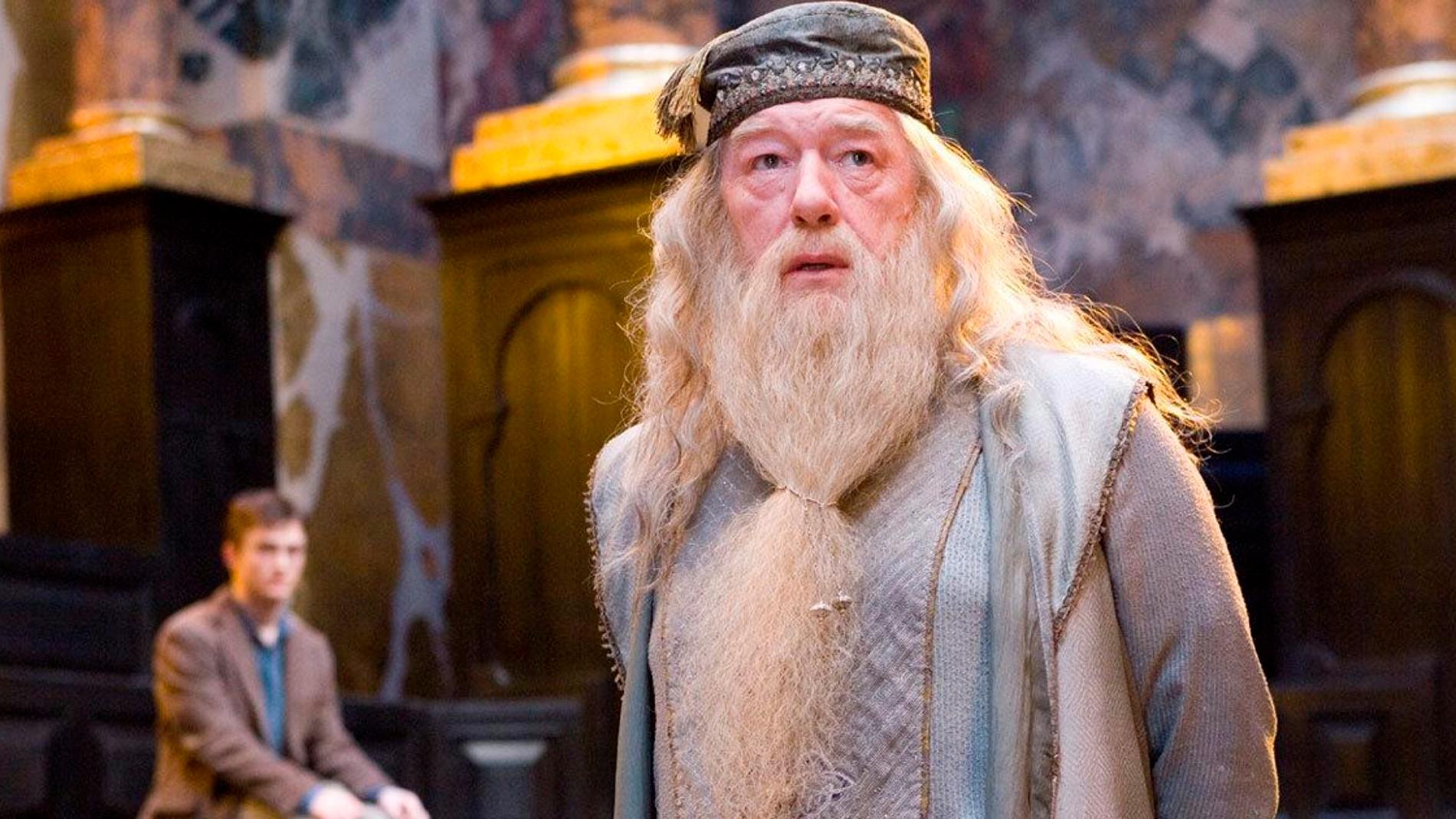 Dumbledore en 'Harry potter y el Cáliz de Fuego'