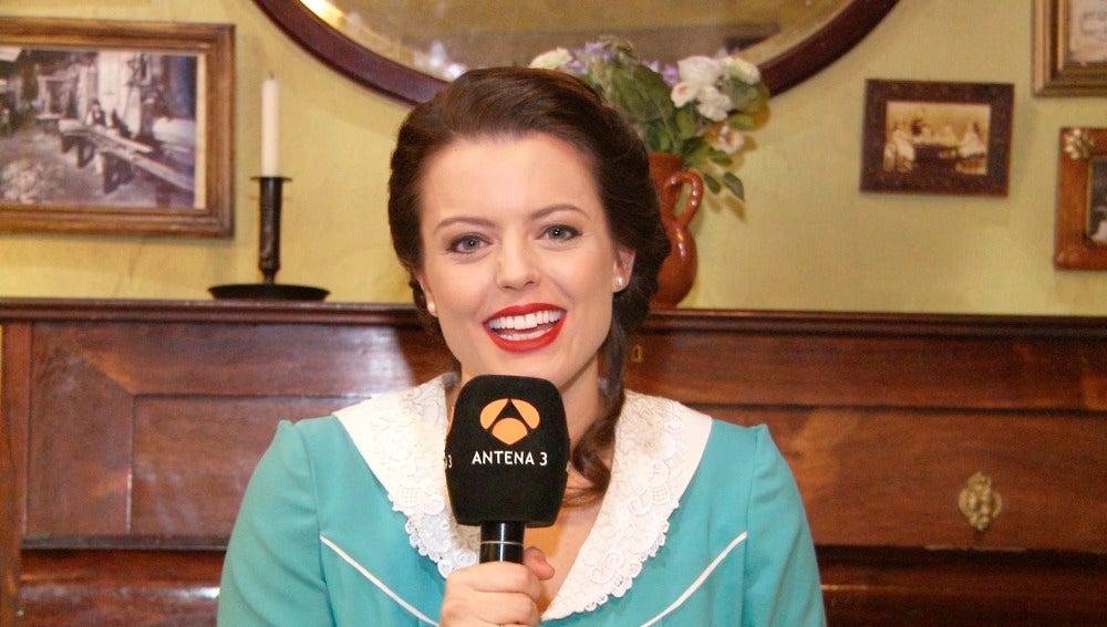 """Adriana Torrebejano: """"Me parece gracioso que mi personaje muera por un error"""""""