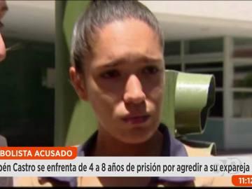 Laura, expareja de Rubén Castro