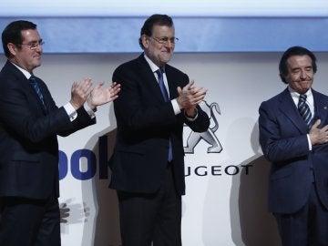 Mariano Rajoy durante la entrega de los Premios CEPYME