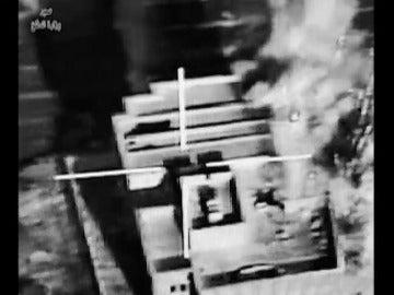 Frame 27.545912 de: Ataques aéreos a numerosas posiciones del Estado Islámico en Mosul