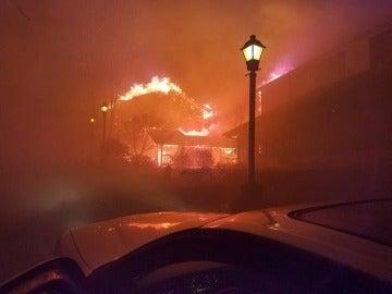 Incendio en Tennessee