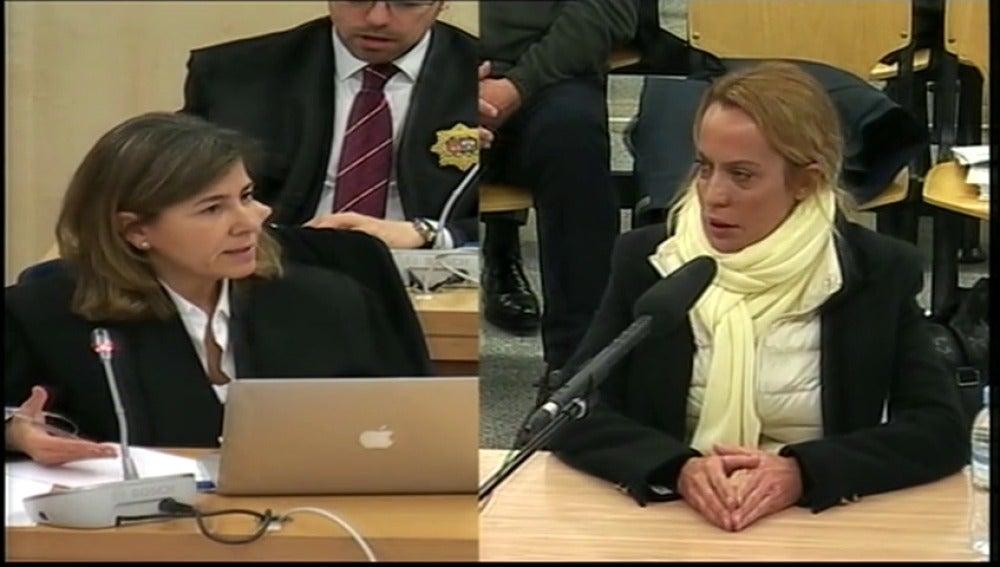 Frame 2.941442 de: La ex mujer de Francisco Correa declara que firmaba por confianza en su marido
