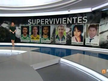 Supervivientes Chapecoense