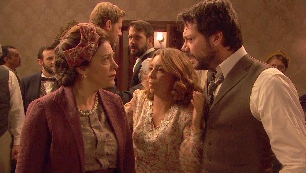 Francisca acusa a Lucas de asesinar a su esposa