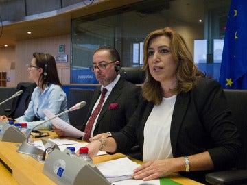 Susana Díaz en Bruselas