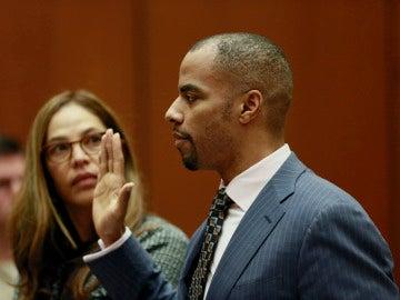 Darren Sharper declara ante el juez en Los Ángeles