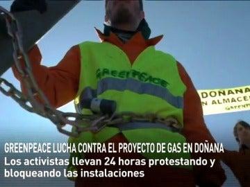 Frame 7.7824 de: 24 HORAS DE PROTESTAS CONTRA LA CONSTRUCCIÓN DE UN ALMACÉN DE GAS EN DOÑANA