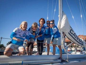 Las 5 participantes que han cruzado el Atlántico