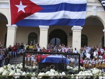 Las cenizas de Fidel Castro en el malecón de Matanzas