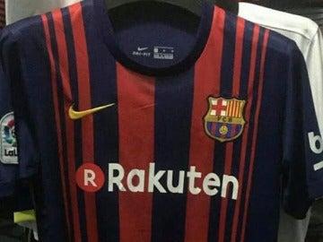 La nueva equipación del Barcelona 461ac7f641bf4