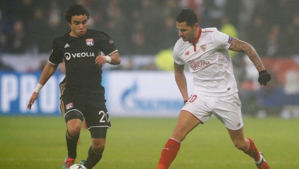 Vitolo frente a Rafael