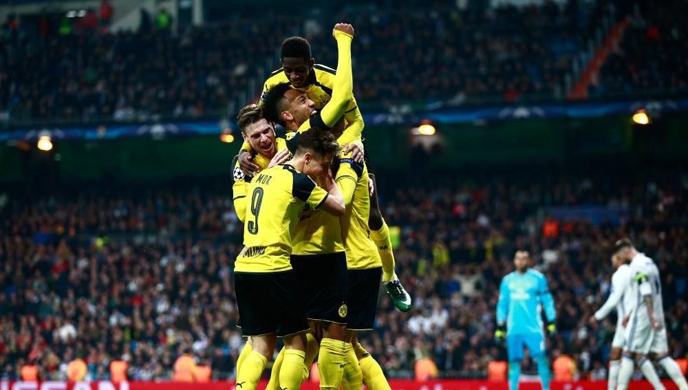El Dortmund empate en el Bernabéu