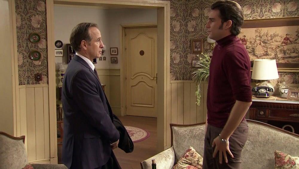 Gonzalo rompe el silencio con su padre