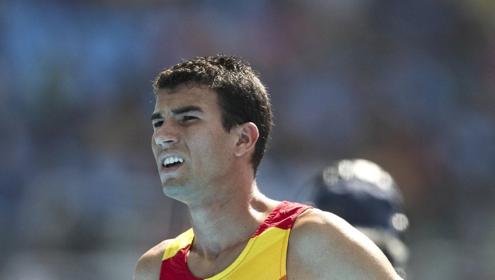 Adel Mechaal en los juegos de Río