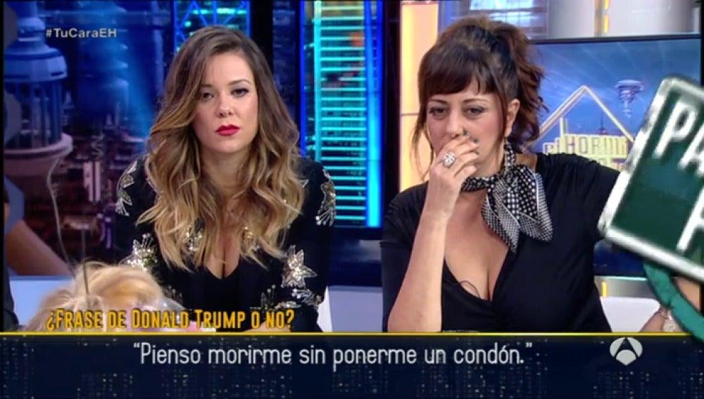 Frame 48.198348 de: Yolanda Ramos y Lorena Gómez, atónitas ante las frases mundiales más insólitas