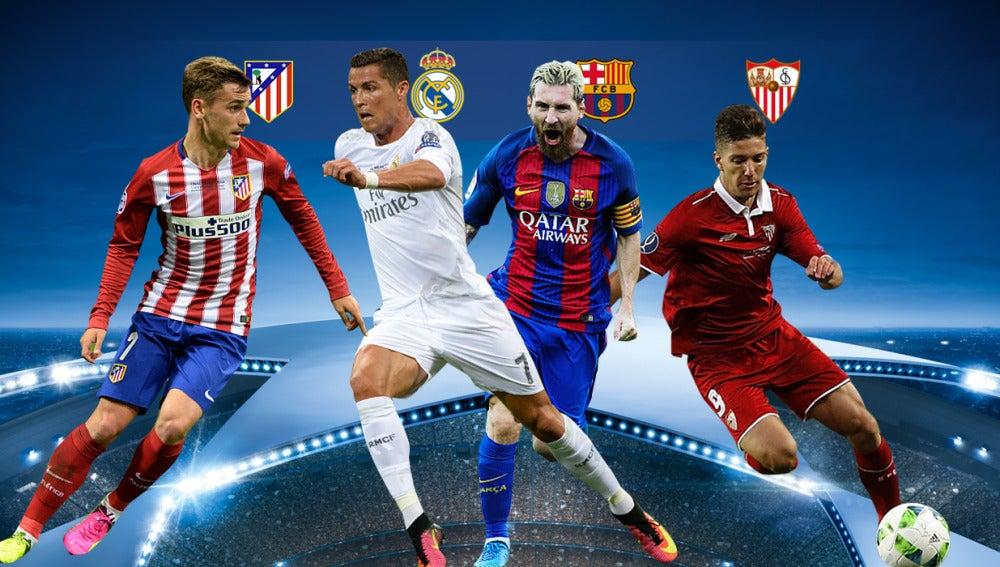 El sorteo de octavos de final de la Champions League se vive en laSexta