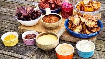 Las patatas se pueden combinar con salsas