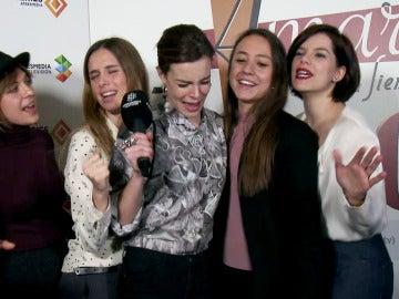 'Amar es para siempre' destapa el show nunca visto de las 'Amarladies'