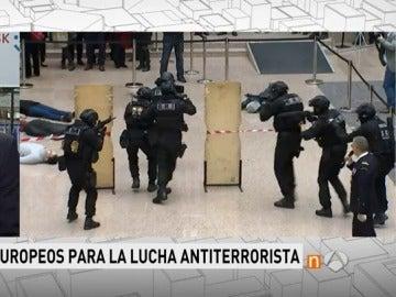 Simulacro ante un posible atentado en el Consejo Europeo