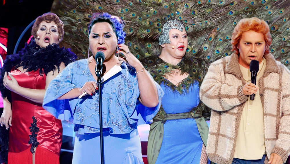 Las mejores actuaciones de Falete en 'Tu cara me suena'