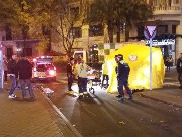 Dispositivo desplegado por el Samur en Madrid