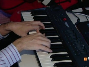 Compositor ante el piano