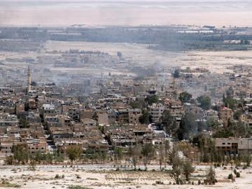 La ciudad de Palmira, Siria